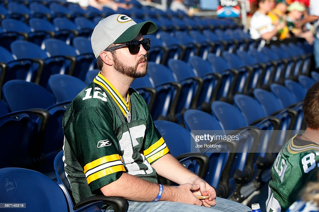Hall of Fame Game - Green Bay Packers v Indianapolis Colts : News Photo