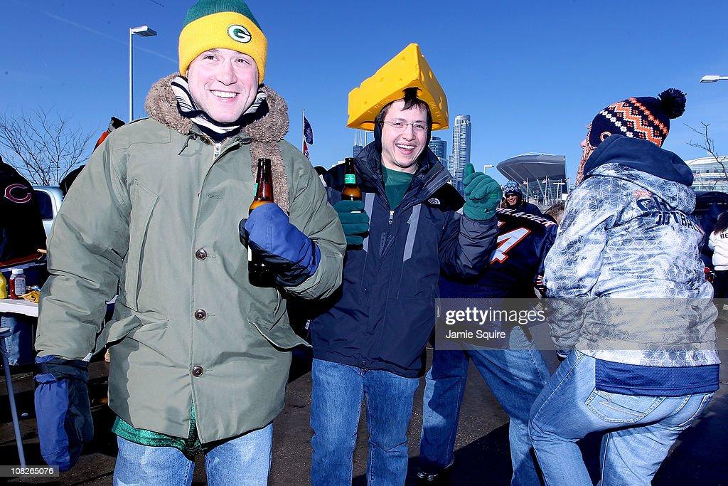 2011 NFC Championship: Green Bay Packers v Chicago Bears : ニュース写真