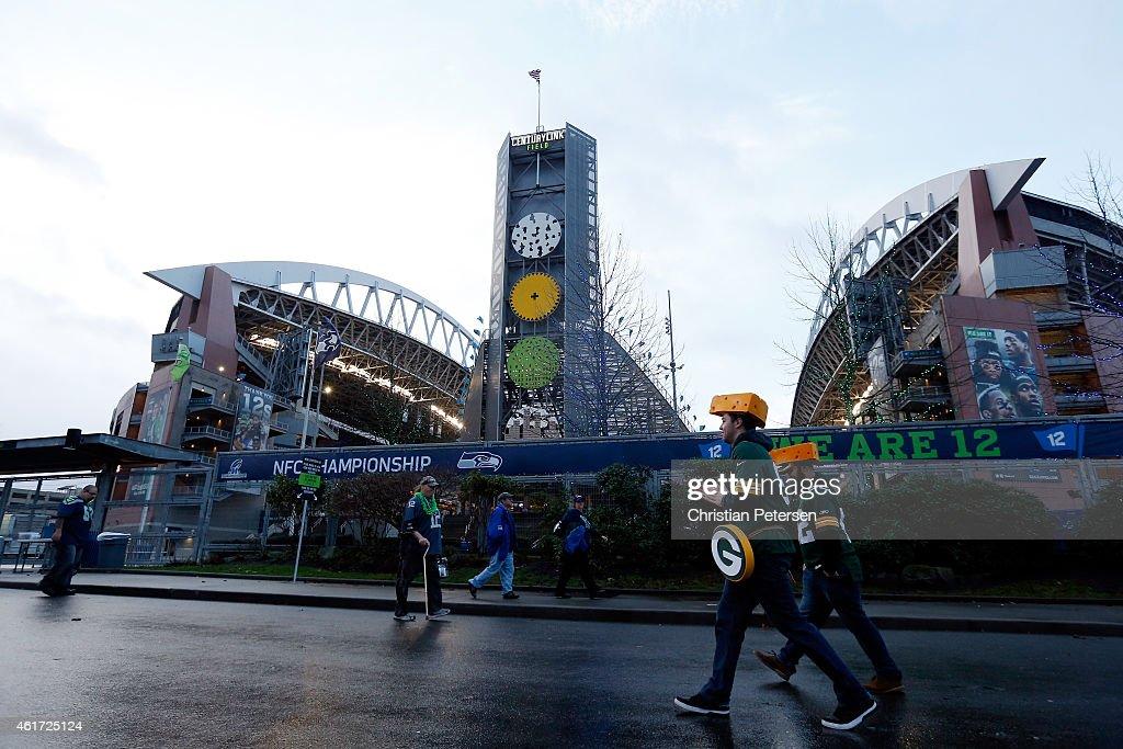 NFC Championship - Green Bay Packers v Seattle Seahawks : ニュース写真