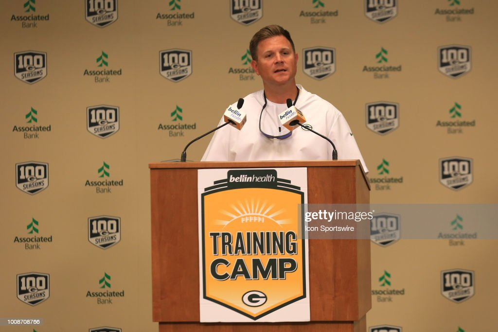 NFL: JUL 31 Packers Training Camp : News Photo