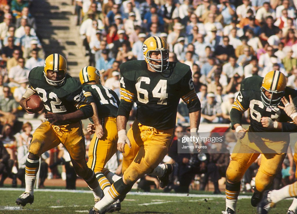 Super Bowl I - Kansas City Chiefs vs Green Bay Packers - January 15, 1967 : News Photo