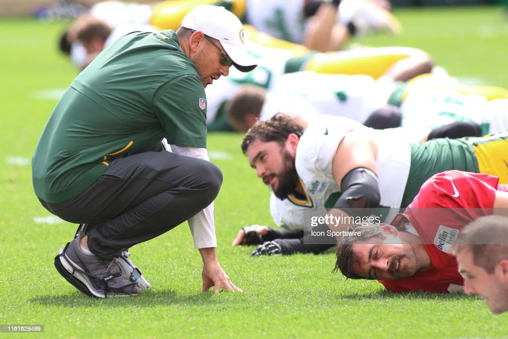 NFL: AUG 13 Packers Training Camp : News Photo