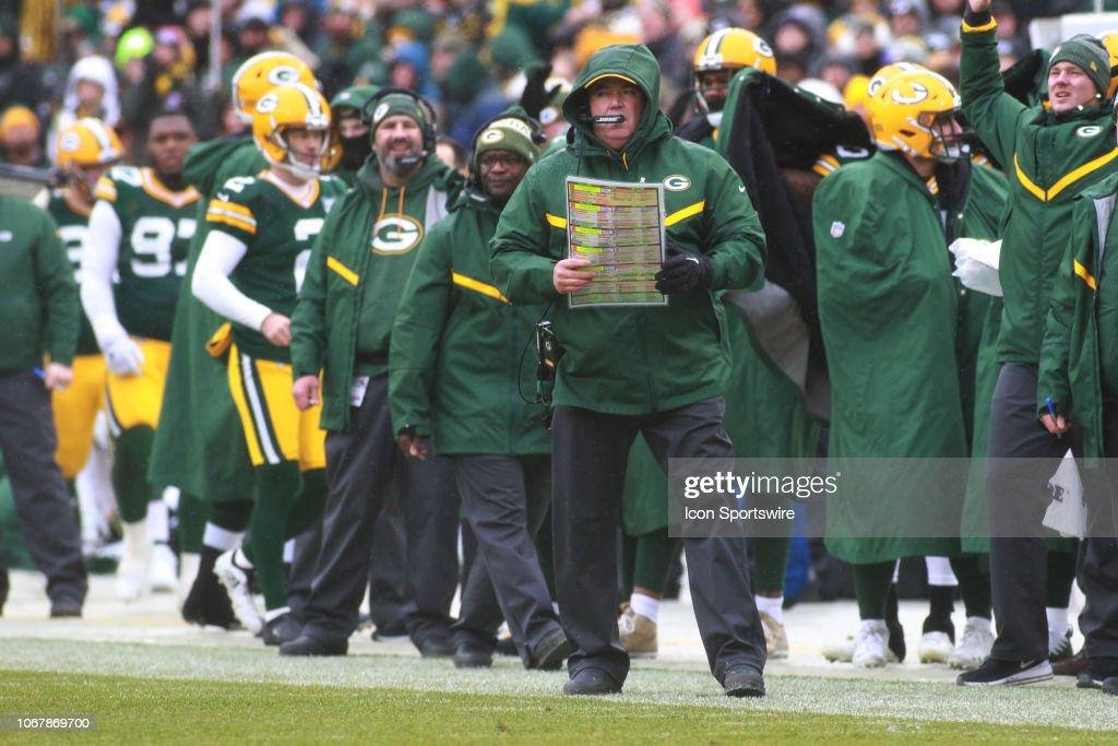 NFL: DEC 02 Cardinals at Packers : News Photo