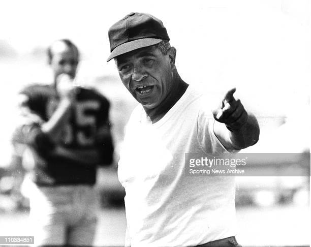 Green Bay Packers head coach Vince Lombardi in ca 1960