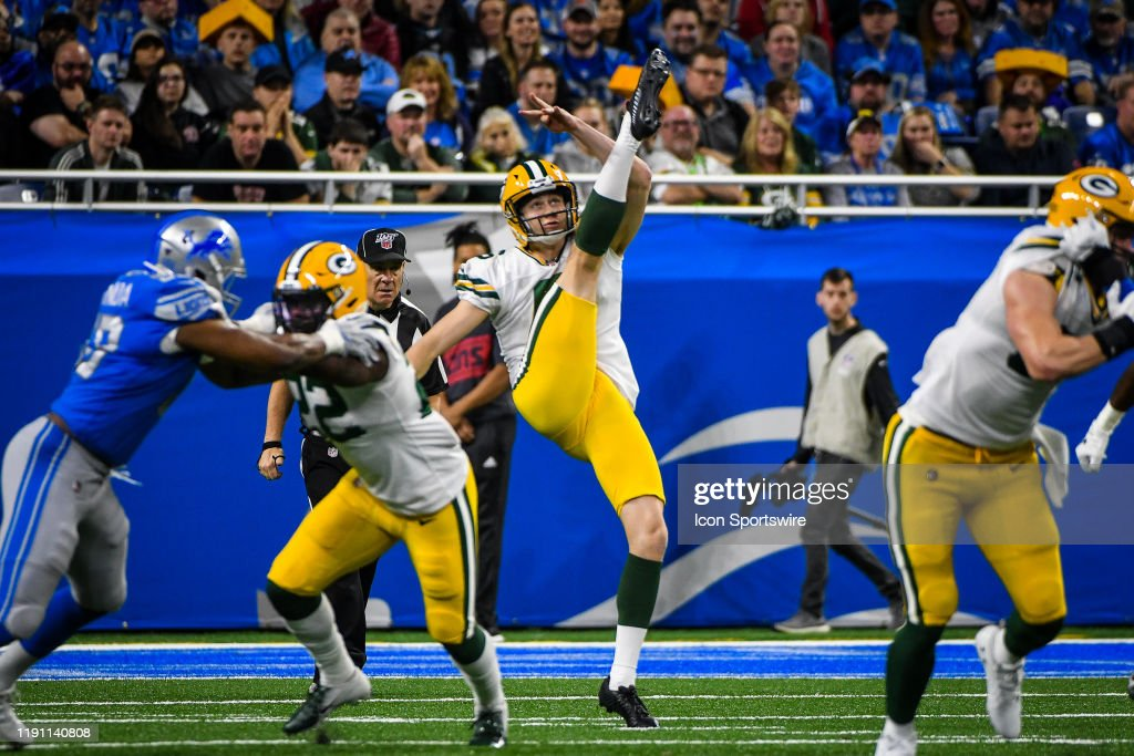 NFL: DEC 29 Packers at Lions : News Photo