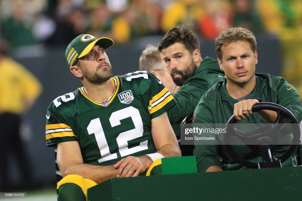 NFL: SEP 09 Bears at Packers : News Photo