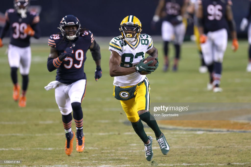 NFL: JAN 03 Packers at Bears : News Photo