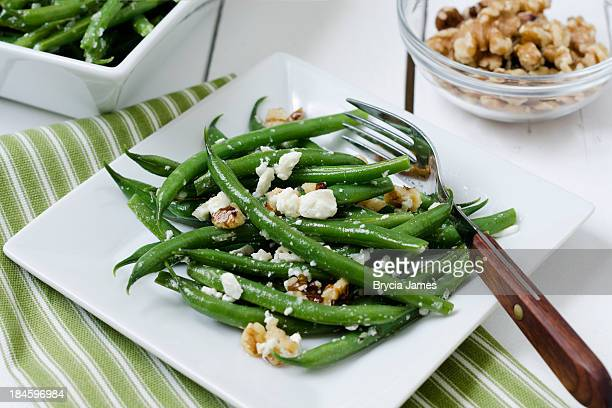 Green Bean Salad with Feta and Walnuts