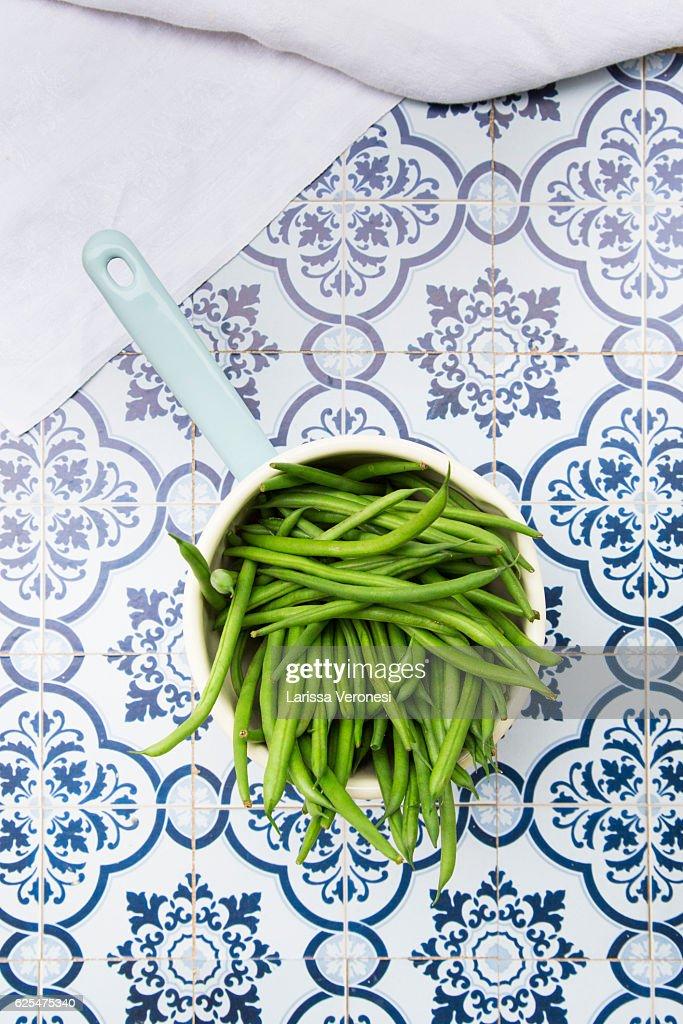 Green beans : Stock-Foto