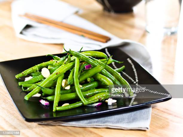 green beans with almond
