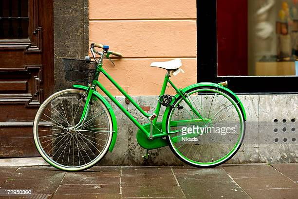 green Fahrrad