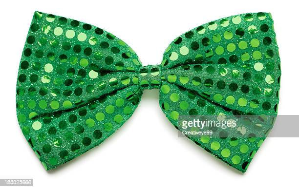 green bow tie - bow tie stock pictures, royalty-free photos & images