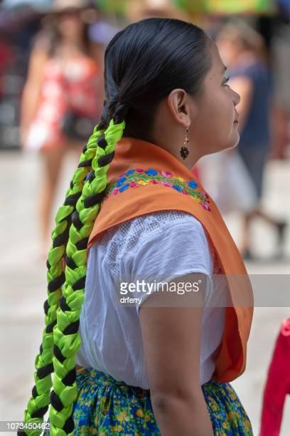 Tresses de vert sur le Día de los Muertos, Oaxaca