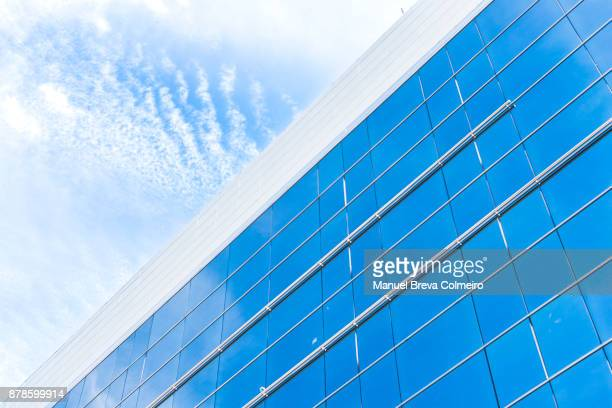 Green building exterior