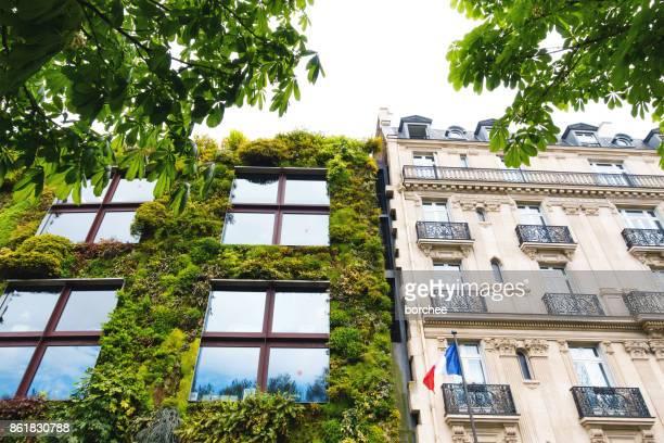 Construction de bâtiments écologiques à Paris