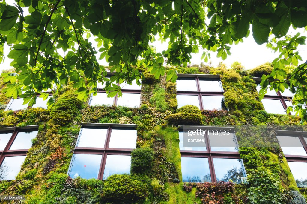 Green Building In Paris : Stock Photo