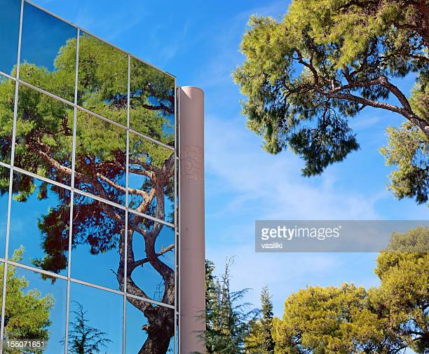 Green business-Gebäude