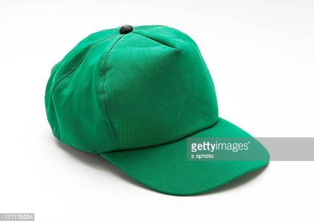 green cap - hat stock pictures, royalty-free photos & images