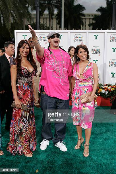 Don Dinero arrives at the 2007 BILLBOARD LATIN MUSIC AWARDS held at the Bank United Center in Coral Gables Florida on Thursday April 26 2007