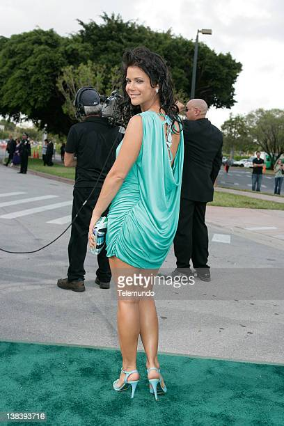 Julie Giliberti arrives at the 2007 Billboard Latin Music Awards held at the Bank United Center in Miami Florida on Thursday April 26 2007