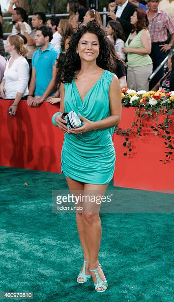 Jullye Gilibert arrives at the 2007 BILLBOARD LATIN MUSIC AWARDS held at the Bank United Center in Coral Gables Florida on Thursday April 26 2007