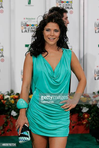 Jullye Giliberti arrives at the 2007 BILLBOARD LATIN MUSIC AWARDS held at the Bank United Center in Coral Gables Florida on Thursday April 26 2007