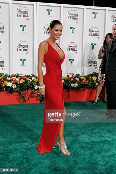 Ninel Conde arrives at the 2007 BILLBOARD LATIN MUSIC AWARDS held at the Bank United Center in Coral Gables Florida on Thursday April 26 2007