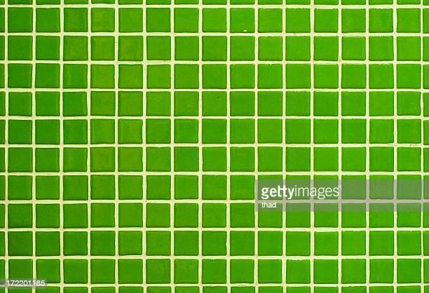 Carrelage vert de