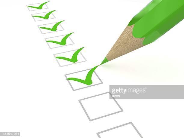 A lista verde