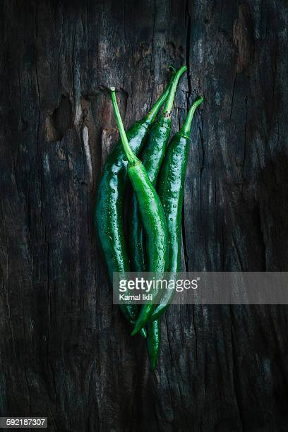 green chili peppers - raw food diet stock pictures, royalty-free photos & images