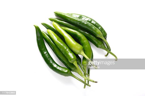 green chili - green chili pepper stock pictures, royalty-free photos & images