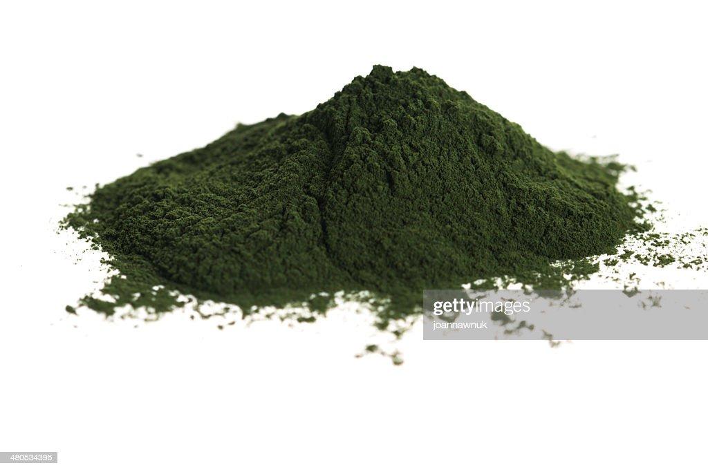 Grüne chlorella : Stock-Foto