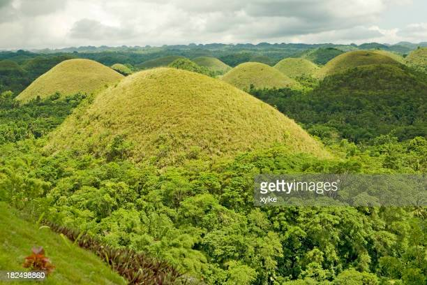 Green Chocolate Hills of Bohol
