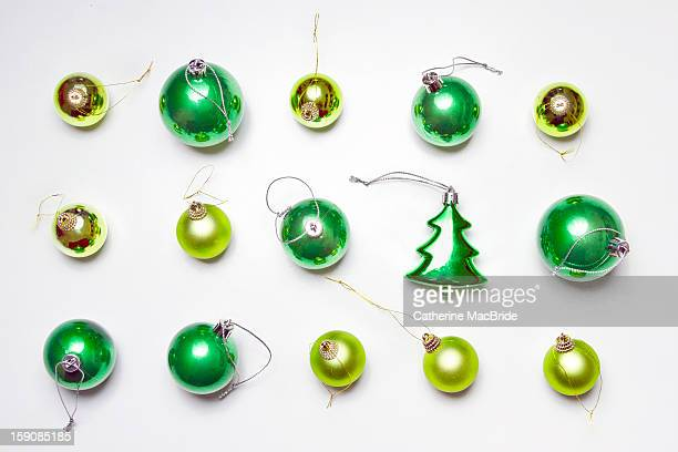 a green christmas... - catherine macbride stock pictures, royalty-free photos & images