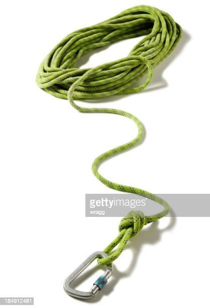 グリーンロープクライミング - 登山用具 ストックフォトと画像