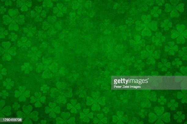 green clover background - luck stock pictures, royalty-free photos & images