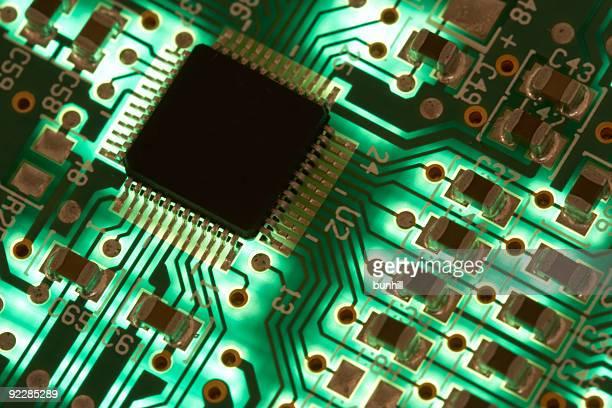 Green Computer Chip Technologien-elektronische Geräte: High-Tech