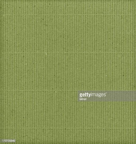 green corrugated cardboard background texture - grooved stock pictures, royalty-free photos & images