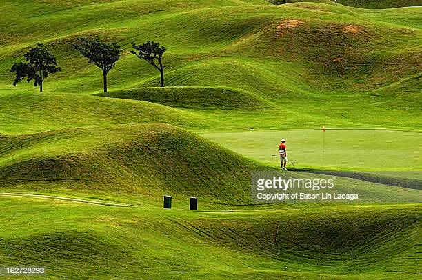 green curve - golf course stock pictures, royalty-free photos & images