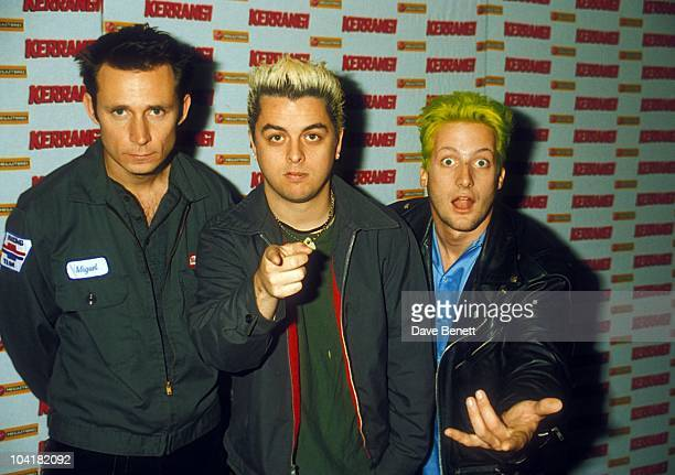Green Day At Kerrang Heavy Metal Awards 1998