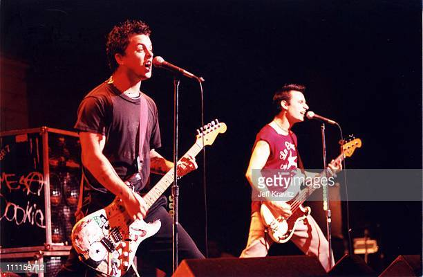 Green Day during 1997 KROQ Acoustic XMas in Los Angeles California United States