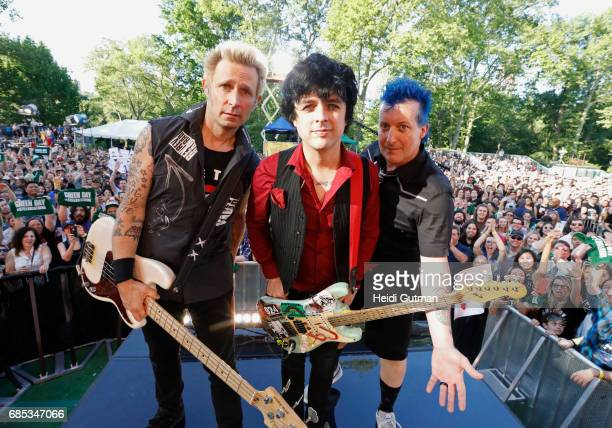 AMERICA Green Day performs live as part of the GMA Summer Concert Series on Good Morning America Friday May 19 airing on the Walt Disney Television...