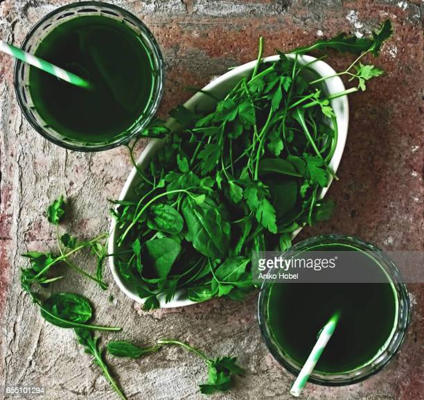 green drink - aniko hobel stock pictures, royalty-free photos & images