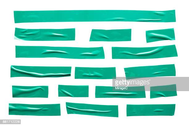 Green Duct Tape Stripes