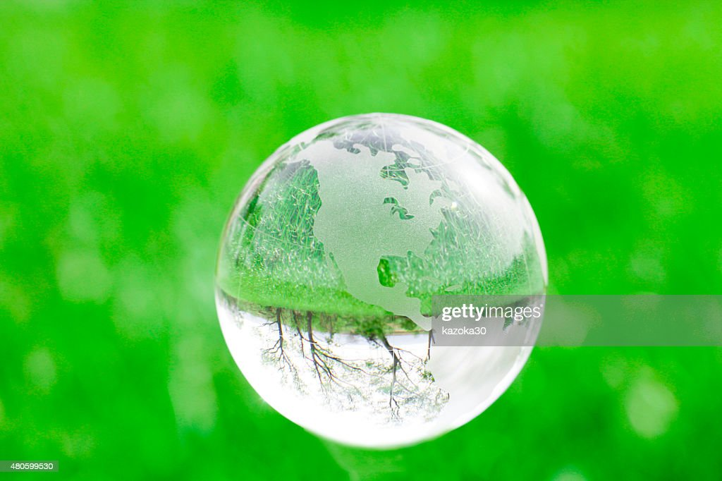Green Earth : Stock Photo