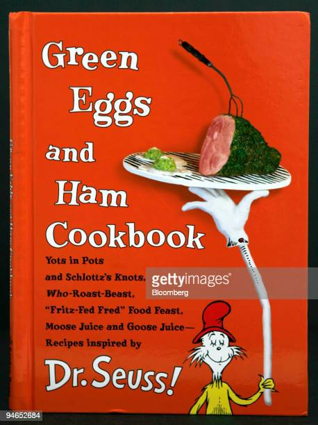 Green Eggs and Ham Cookbook by Georgeanne Brennanis with photographs by Frankie Frankeny is displayed for a photograph Friday December 1 2006 in New...