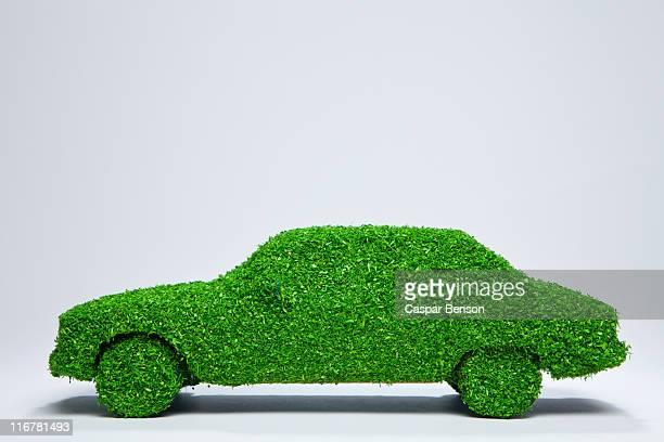 Green energy car.
