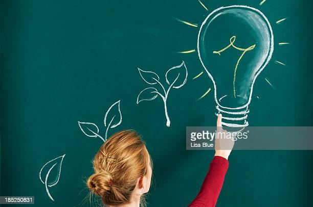Grüne Energie-Konzept