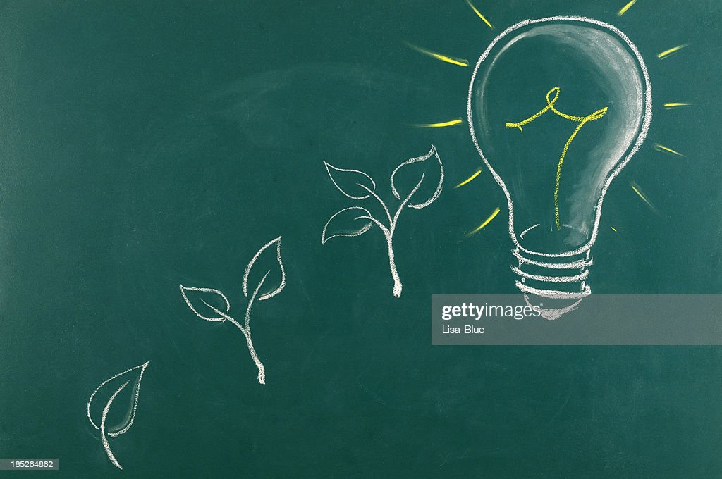 Green Energy Concept.Copy Space. : Stock Photo