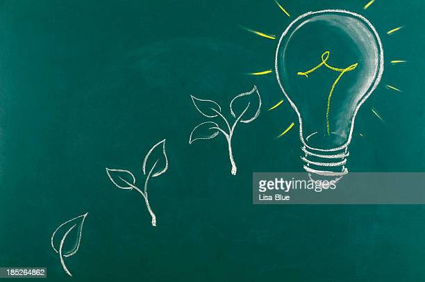 Energía ecológica Concept.Copy espacio.